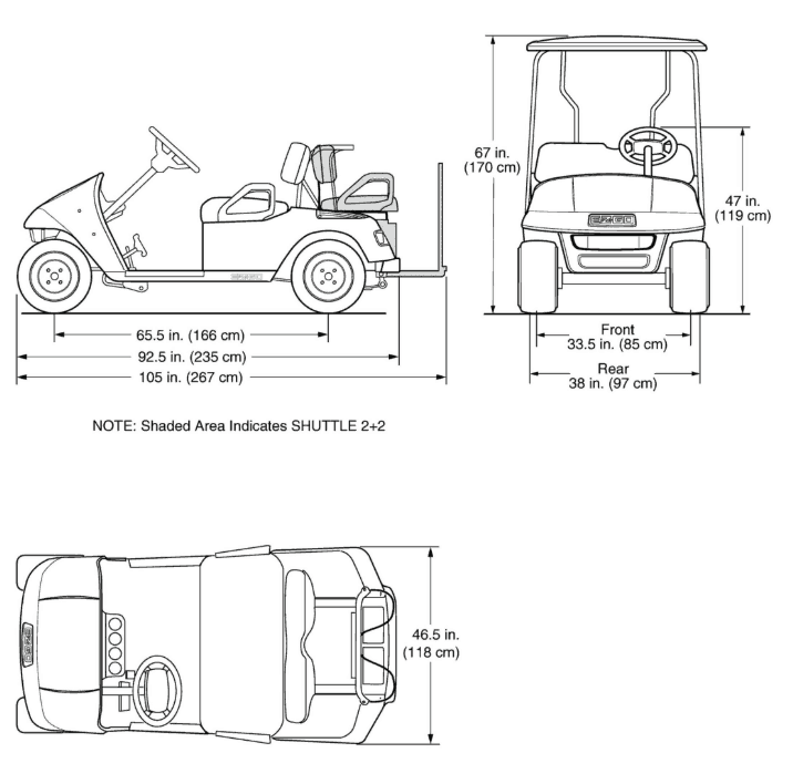 How Wide is a Golf Cart For Trailers, Garages, and More - Golf Cart Club Car Golf Cart What Is The Height on